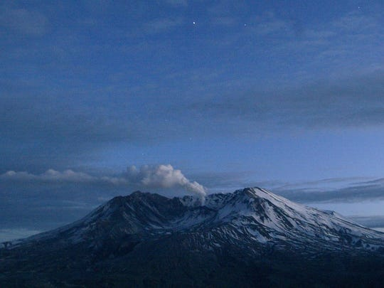 In this March 9, 2005 file photo, Mount St. Helens