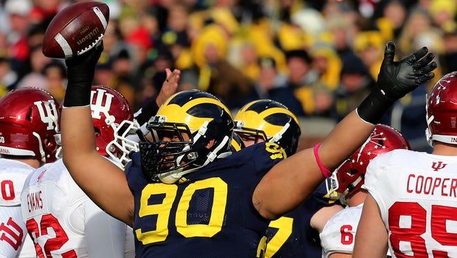Michigan's Bryan Mone in 2014.