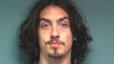 Mason Klein, 21, was arrested by Polk County Sheriff's deputies following a police chase.