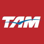 TAM's logo.
