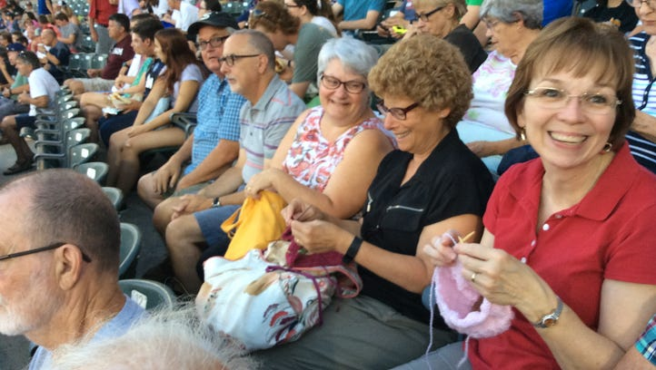 It's time to get tickets for the Stitch 'N Pitch game