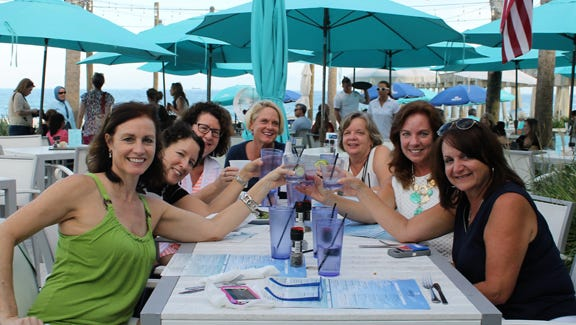 Try Casino Beach Bar & Grille for great food and breathtaking views.