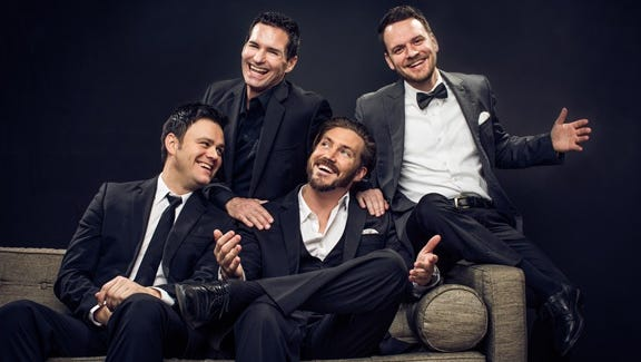 Capture all the excitement of the real Jersey Boys in nearby Hillside, when The Modern Gentlemen – Frankie Valli's longtime backup singers – arrive at Kean Stage's Enlow Recital Hall on Saturday, October 7.