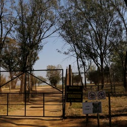 A general view of an enclosure of the Lion Park, in Johannesburg, South Africa, on June 2, 2015.