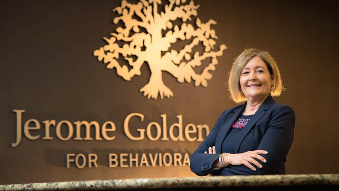 Dr. Linda De Piano, CEO of the Jerome Golden Center for Behavioral Health in West Palm Beach, Florida on January 12, 2018.
