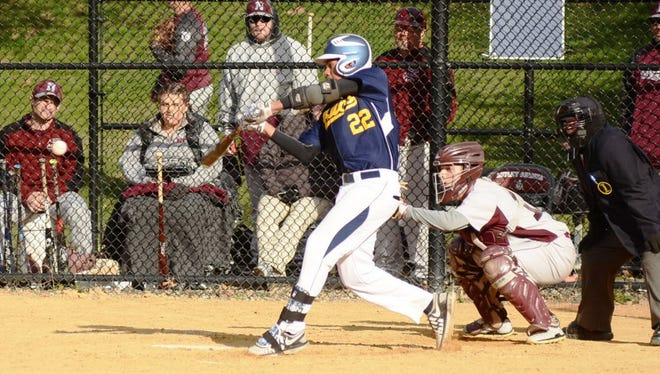 Chris Amparo had two hits as Belleville defeated Golda Och, 12-0.