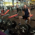 YMCA members prepare for the weekend with Friday workout