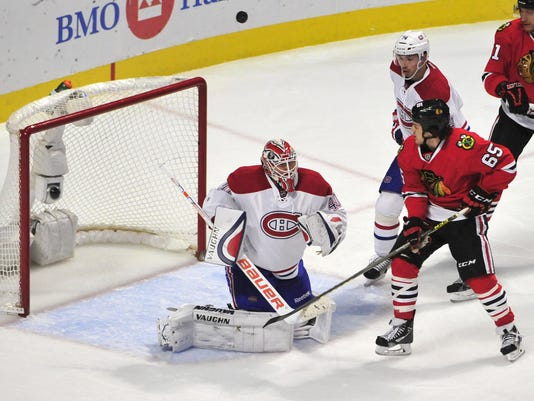 USP NHL: MONTREAL CANADIENS AT CHICAGO BLACKHAWKS S HKN USA IL