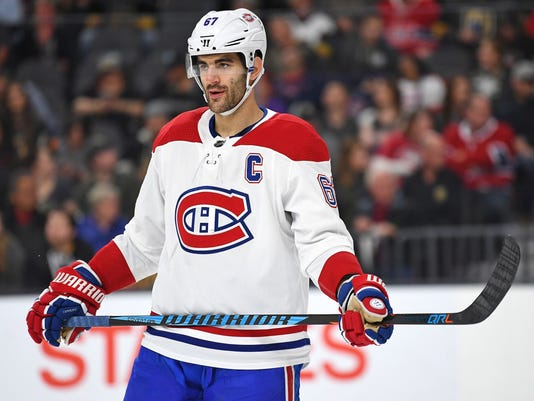 USP NHL: MONTREAL CANADIENS AT VEGAS GOLDEN KNIGHT S HKN VGK MTL USA NV