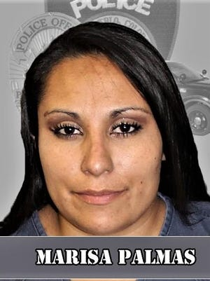 After twice running from Pueblo Police Department officers, suspect Marisa Palmas was arrested in a fast food drive-thru.