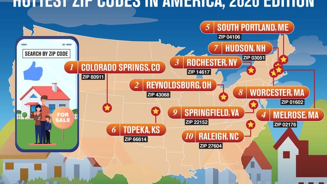 """In a report released this month, realtor.com ranked Topeka's 66614 ZIP code as the sixth """"hottest"""" residential area in the U.S. based on housing demand and relative affordability."""