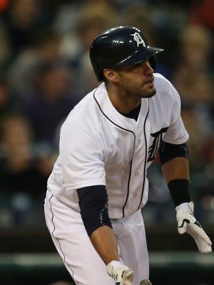 Tigers rightfielder J.D. Martinez