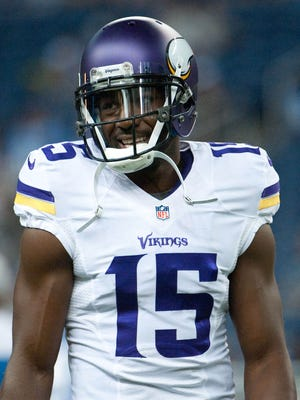 Minnesota Vikings wide receiver Greg Jennings.
