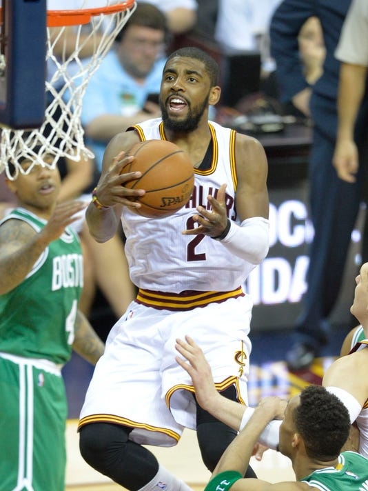 22294de4945d Kyrie Irving and Cavaliers playoff rookies ace debut