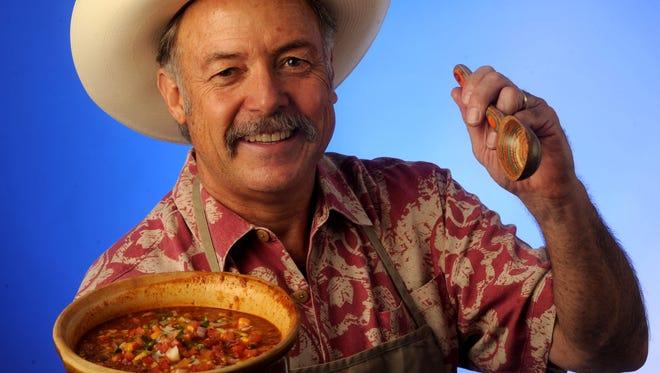 Scott Puckett of Camarillo brings in his Chili to the Ventura County Star studio.