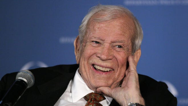 The Huntsville, Tenn., mansion and property of former U.S. Sen. Howard Baker is set for auction Saturday. Tennessee's first Republican senator, Baker served as Senate majority leader, chief of staff to President Ronald Reagan and ambassador to Japan before his death in 2014.