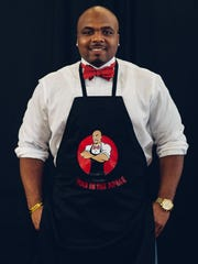 William Pierre Davis of Man in an Apron catering company.