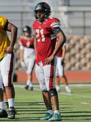 Defensive end Kayvon Thibodeaux, who transferred from