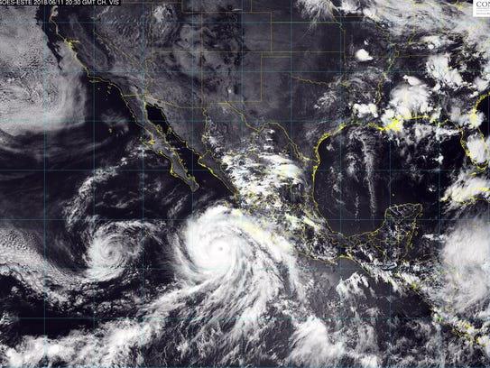 El Servicio Meteorológico Nacional alertó de rachas