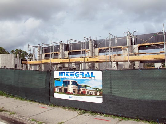 A new Engle Dentistry office is being built by Integral