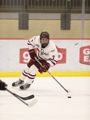 Former Naples resident Dylan Pitera has been lighting up the scoreboard for his Culver Military Academy hockey team in Indiana. Pitera, a former Florida Junior Everblades standout, has broken the school record for points in a season, scoring 42 goals and dishing out 35 assists for 77 poiints in 43 games.