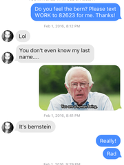 Robyn Gedrich, 24, of Brick, a Democratic candidate for Ocean County freeholder in the June 7 state Democratic primary, uses the dating app Tinder to convince guys that Bernie is their man.