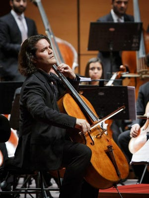 """El Paso Pro-Musica artistic director and renowned cellist Zuill Bailey received two Grammy Award nominations this week for """"Tales of Hemingway,"""" which he performed live with the Nashville Symphony."""