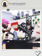 Lego Batman is one of the characters kids can follow