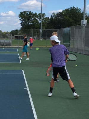 Reigning Athlete of the Week, Shaw Sova, practices with his Fowlerville teammates as they are in the midst of a surprisingly very good season.