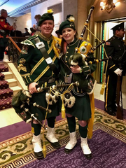 John McGowan and Kathleen Murphy McGowan, who play