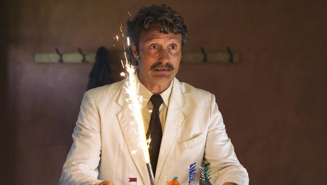 """""""Hannibal"""" fans will have to look twice to recognize Mads Mikkelsen in """"Men & Chicken."""""""