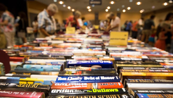 Friends of the Lafayette Public Library book sale is in full swing and lasts until Saturday.