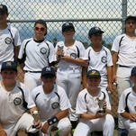 The Yankees were recently crowned champions of the Bronco Division in the Northville Youth Baseball League. Team members include (front row, from left): Aidan Burr, Kyle Gilger, Torin Graver, Ryan Medendorp, Aidan Lukas, assistant coach Jason Burr; (back row, from left); head coach Andrew Giddings, Joseph Elwell, Max Rallis, Ethan Tunney, Alex Roznowski, Jake Giddings and assistant coach Bob Medendorp. (Not pictured are Noah Patenaude and Jamil Guerrero.)