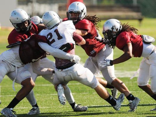 College Football: Florida Tech Team Scrimmage