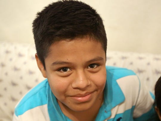 Yesser Escalante, 14, was recently reunited with his