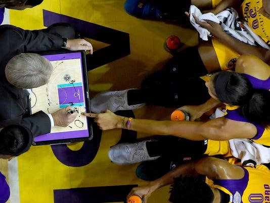 WNBA: Minnesota Lynx at Los Angeles Sparks