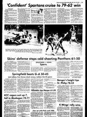 Battle Creek Sports History: Week of Jan. 12, 1977