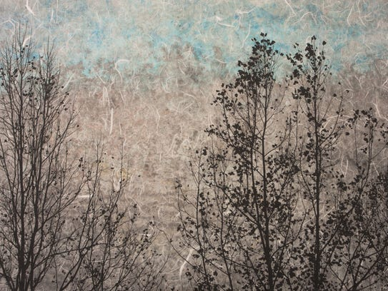 """Parkway In The Fog"" by Paul Moberg is a mixed-media"