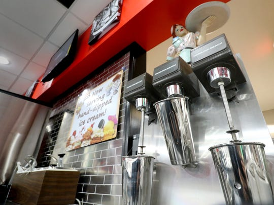 Handmade malts and shake and hand-dipped ice cream will be offered at the Route 76 Diner at 7510 W. Layton Ave., just east of 76th Street, that is readying for a grand opening on Nov. 4.