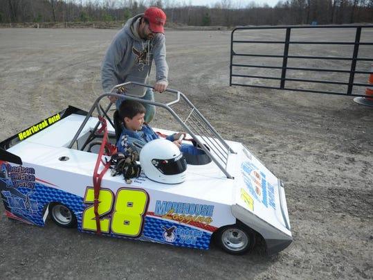The Driver Of A Race Car Hears