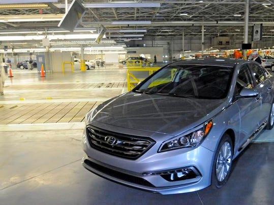 Hyundai Unveils New Look Sonata In Montgomery