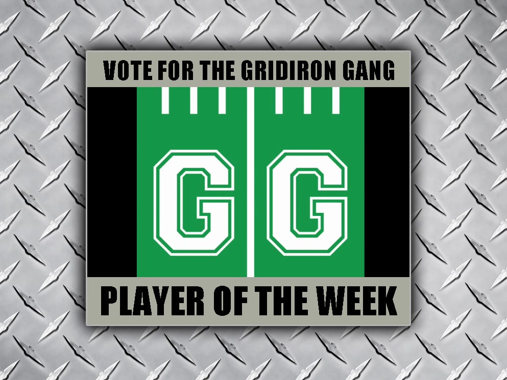 Player of the week.