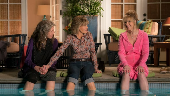 Lily Tomlin, Jane Fonda and Lisa Kudrow in 'Grace and