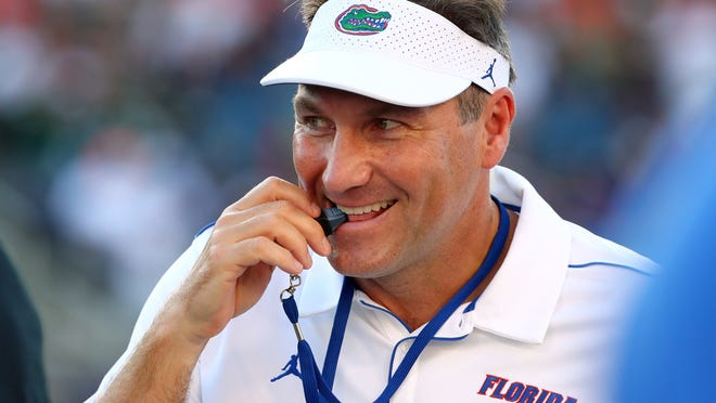 Florida football coach Dan Mullen and his program developed virtual visits to show top targets and their families what the school and team had to offer.