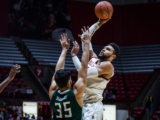 Ball State's Franko House shoots past Eastern Michigan's