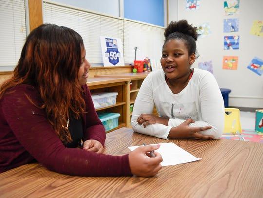 Kori Carter, Neighborhood Resource Center community