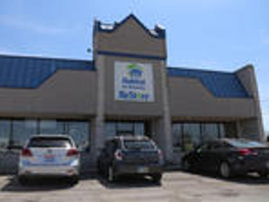Habitat for Humanity's new location at 2151 Stumbo Road in Ontario.