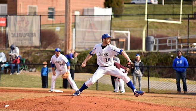 Erwin graduate Hunter Boydston is a senior for the Mars Hill baseball team.