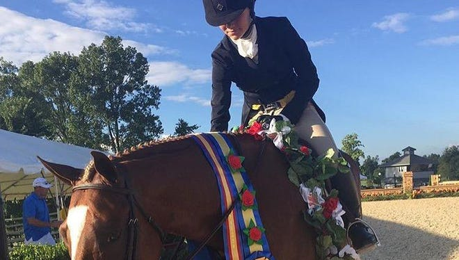 Sam Palermo, 14, a ninth grader at Merritt Island High School, and Neptune, an 8-year-old Welsh and thoroughbred steed, wowed the crowds at the United States Equestrian Federation Pony Finals at Kentucky Horse Park in August, earning fifth overall in a large and highly competitive event that attracts top young riders from around the country.