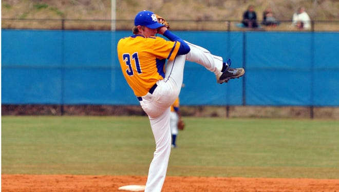 Mars Hill will host a baseball camp for high school players in December.
